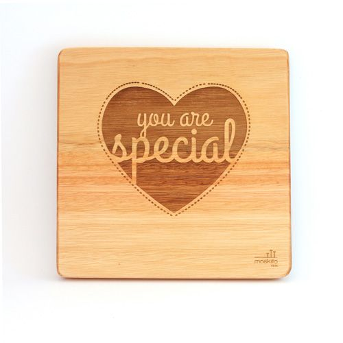 """You are special"". A simple, creative design but such beautiful words. These can be bought individually or buy the whole set!"