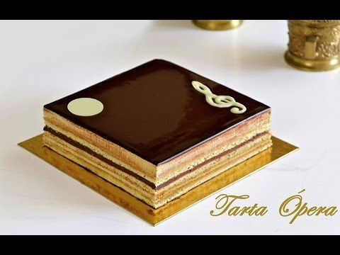 Opera Cake Recipe – Bruno Albouze – THE REAL DEAL - YouTube
