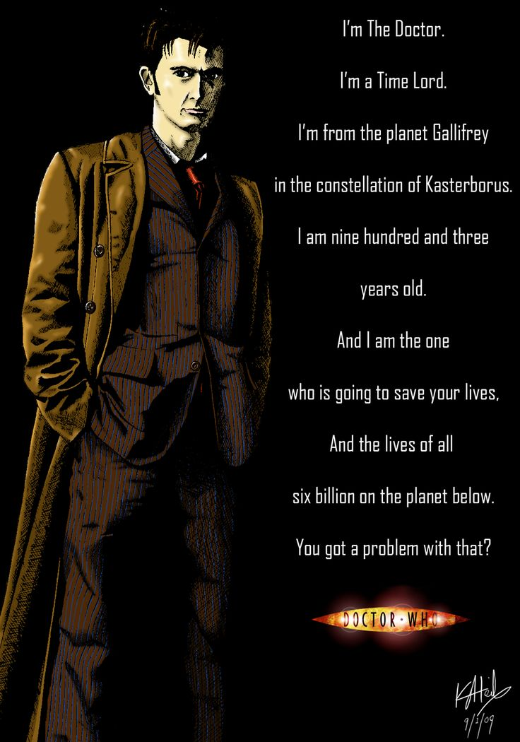 The Tenth Doctor is an incarnation of the Doctor, the protagonist of the BBC science fiction television programme Doctor Who. Description from pixgood.com. I searched for this on bing.com/images