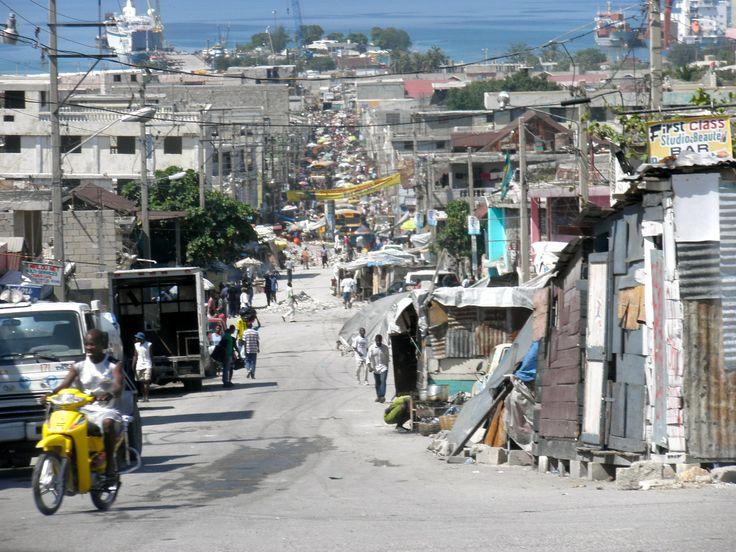 Image result for reconstruction centre ville port-au-prince