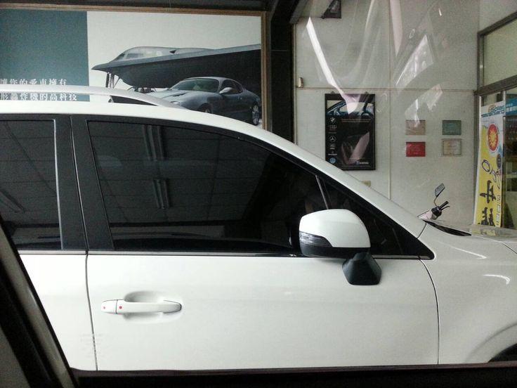 臺南順興SUPERLEX菁英隔熱紙GE33+GE11 20150128 | Car door. Car. Vehicles