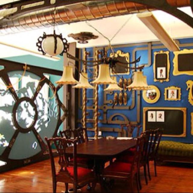 Steampunk architecture lisa pinterest architecture for Kitchen designs steampunk