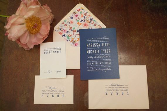 Modern, Elegant, Classic….the list goes on! This suite is just gorgeous! Each card is professionally printed. Wording and colors are completely