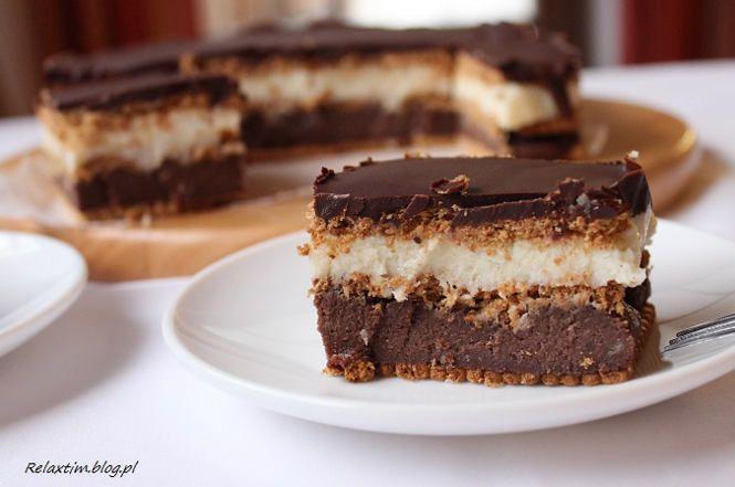 Stefanka kokosowo - czekoladowa