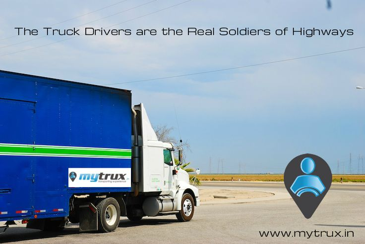 The Truck Drivers are The Real Soldiers of Highways #Solute #TruckDrivers #RoadTransportation #TruckingIndustry #India