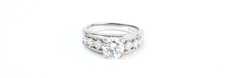 #Diamonds #Platinum #Rings  Rings | Joyeria Cesareo