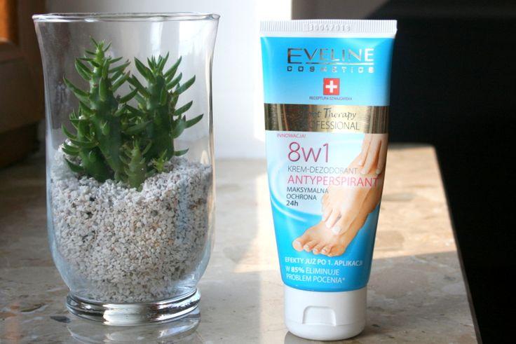 Eveline 8w1 Foot Therapy Specjalistyczny krem-dezodorant - prawdziwa ulga dla zmęczonych stóp. Świetny w upały :).