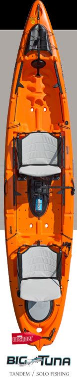Fishing Kayak: Big Tuna, Sit On Top Kayak, Tandem Kayak | Jackson Kayak Jackson Kayak – Whitewater Kayaks, Fishing Kayaks, Recreational Kayaks