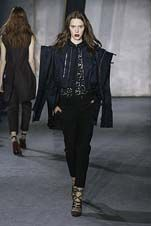 61-3.1 Phillip Lim Fall/Winter 2015/2016 Collection Crop jacket, tapered leg, ankle grazer