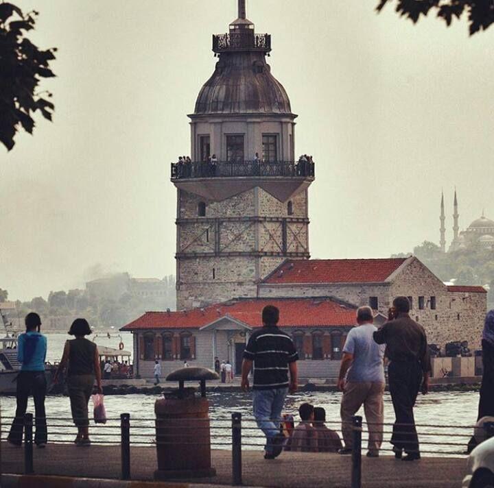 kız kulesi, istanbul (foto: nahid özen)  © Motaz Al Tawil