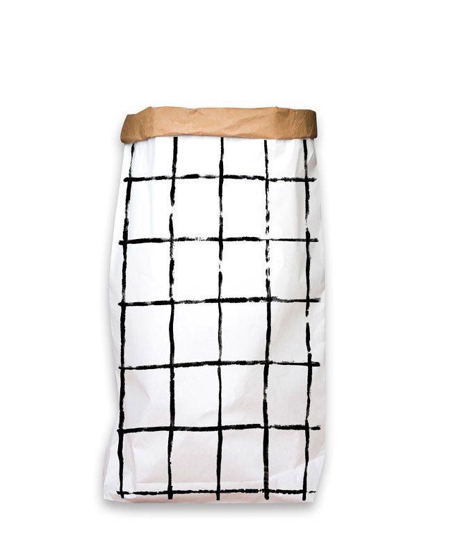 Opruimen! #Paperbag XXL Grid | CarlijnQ