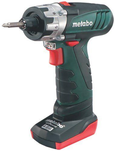 Billig Metabo 600092510 Akku-Bohrschrauber PowerMaxx BS Pro Bewertungen
