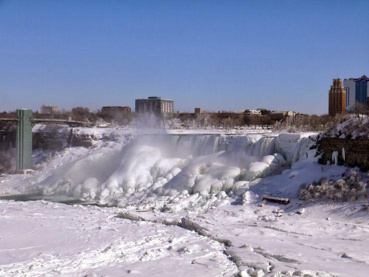 A Wintery Niagara Falls