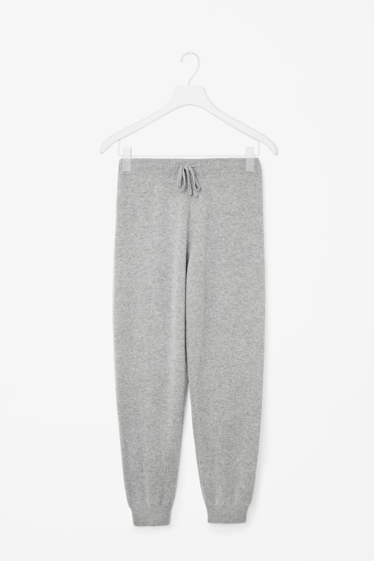 COS   Relaxed cashmere trousers