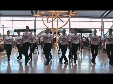 TAKE THE FLOOR Flashmob Dublin Airport - YouTube. I hope this happens some day when I go to Ireland!!