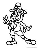 irish people coloring pages - photo#18