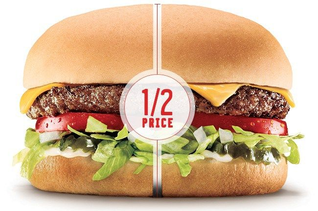 Sonic half Price burgers Today all day 3/31 Details - http://couponsdowork.com/restaurant-coupons/burgers-half-price-331/