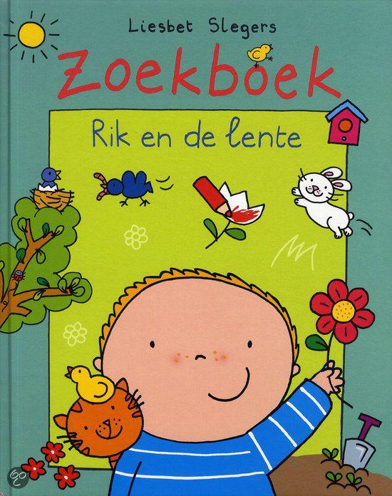 bol.com | Zoekboek Rik en de lente, Liesbet Slegers | 9789002257896 | Boeken
