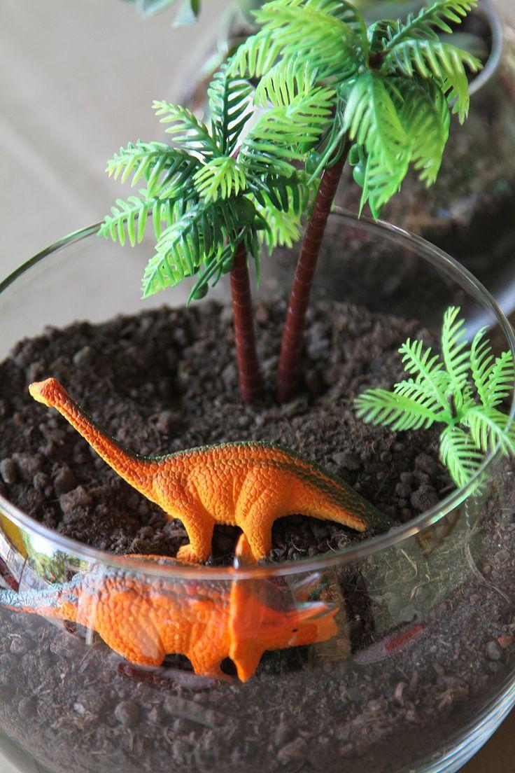 53 best images about Festa dinossauro on Pinterest Mesas, Dinosaur party and Madeira -> Decoração De Mesa Festa Dinossauro