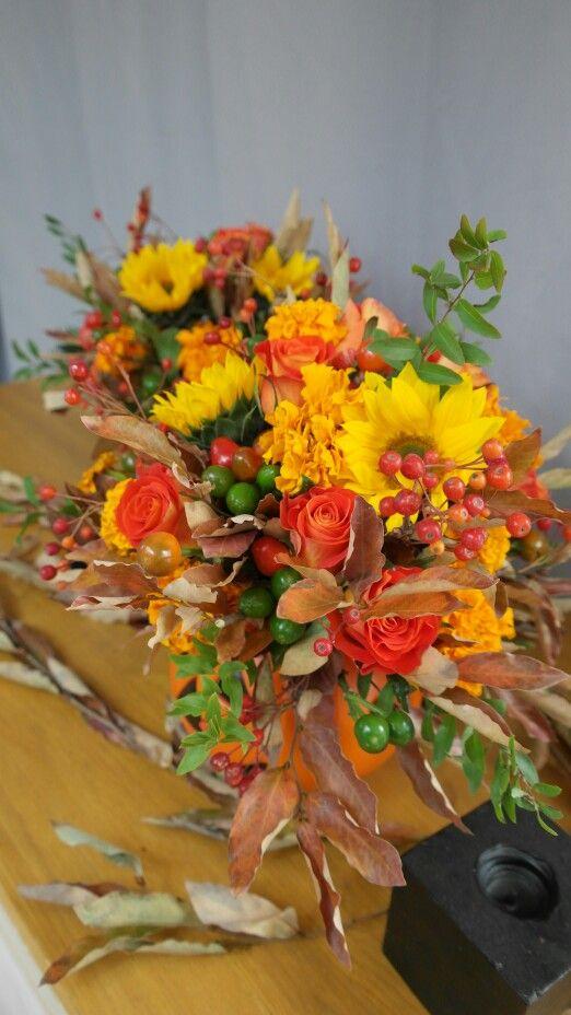 halloween flower lesson - larose flower & school