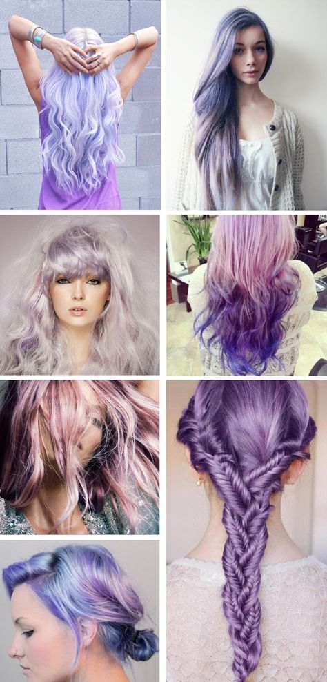 lilac hair - love it!! Want to do it as soon as I'm out of the navy