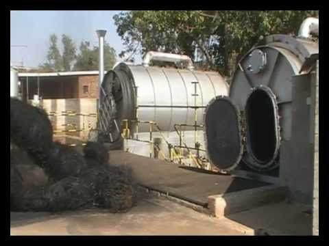 Innovative Recycling Pyrolysis DVD2.wmv - YouTube