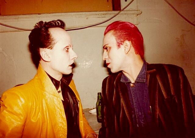 Klaus Nomi and Joey Arias