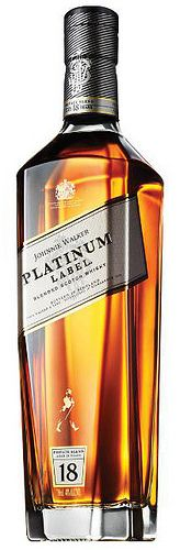 Johnnie Walker Platinum Label Blended Scotch Now you're talking my language.  Excellent 18 yr old.  Very complex and rich.