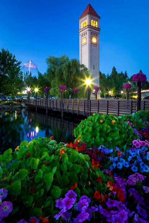 Riverfront Park in Spokane, Washington ... the site of the World's Fair Grounds in the 70s.
