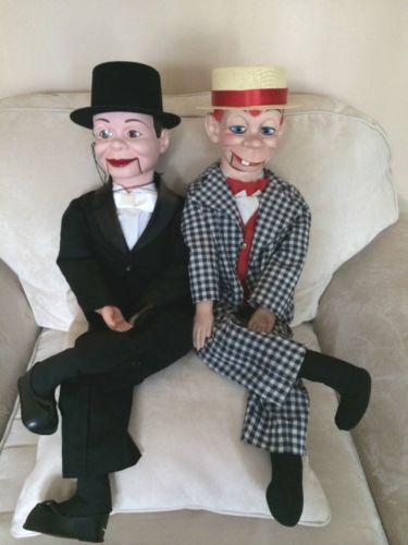 Charlie Mc Carthy AND Mortimer Snerd Ventriloquist Dummies