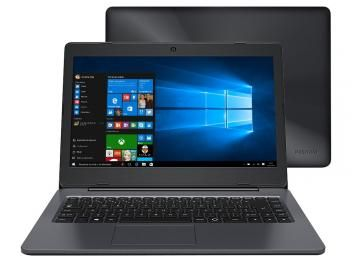 "Notebook Positivo Stilo One XC3570 Intel Quad Core - 2GB SSD 32GB LED 14"" Windows 10 c/ Cartão SD 32GB"