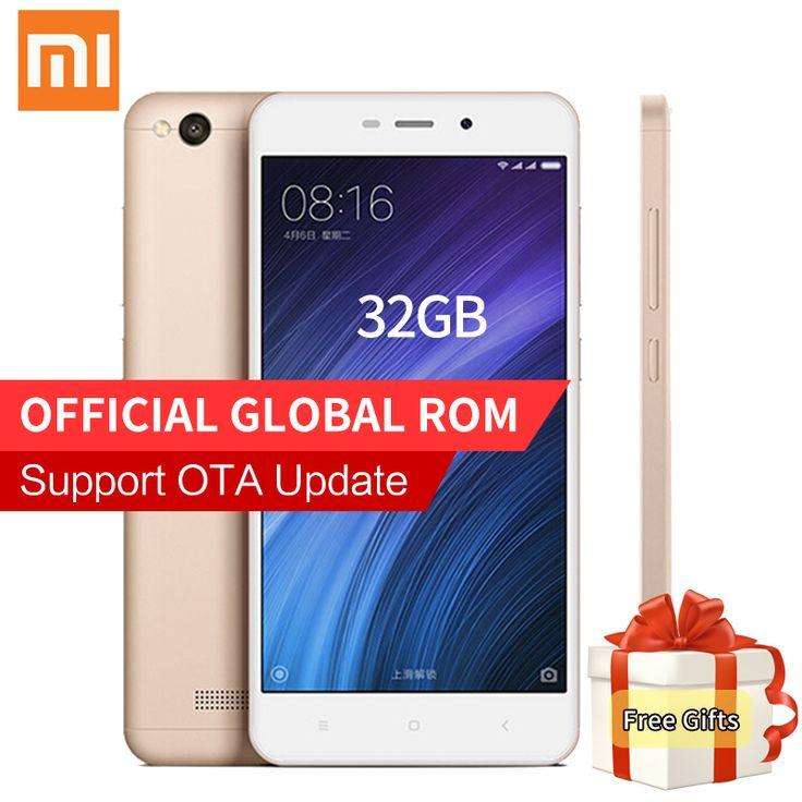 """Лучший продукт из Китая - купить """"оригинальный xiaomi Редми 4А Pro смартфон 2 ГБ оперативной памяти 32 Гб ROM четырехъядерный процессор Snapdragon 425 13.0 Мп камера 4G LTE в СЗД на MIUI 8.1 ОТА обновление"""" всего за 130.24 долл."""