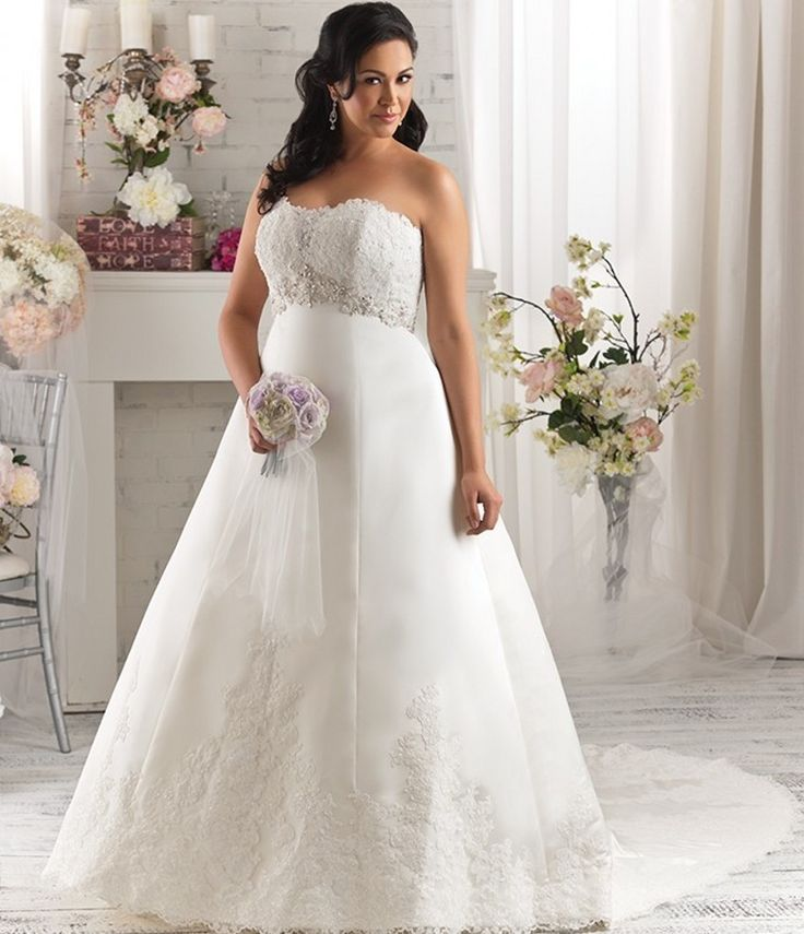 Sexy Empire Waist Maternity Wedding Dresses Lace Vestido De Noiva Applique  Plus Size Bridal Gown For