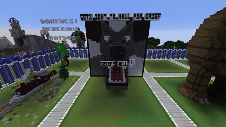 I made an Insanity Wolf meme in Minecraft.