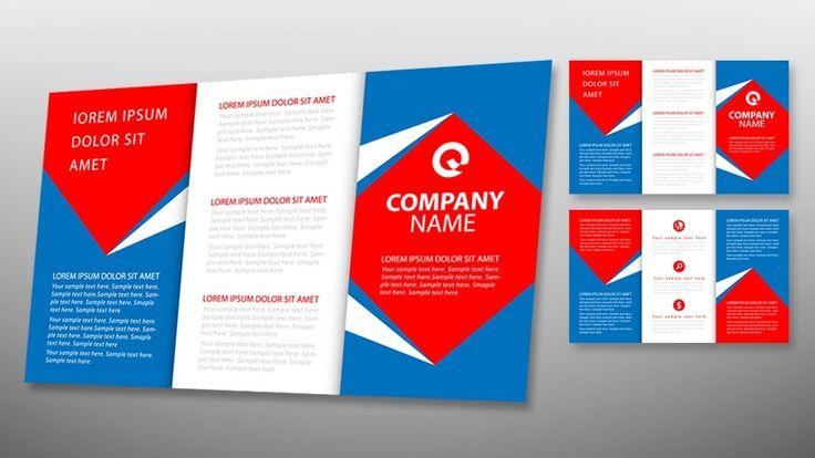 adobe illustrator tri fold brochure template - 8 best brochure design images on pinterest adobe
