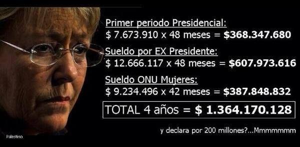 Michelle Bachelet!