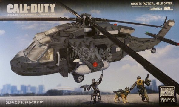 ToyzMag.com » Call of Duty – Mega Bloks : Review Heavy Lift Chopper
