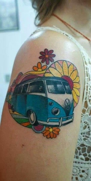 VW Camper Tattoo