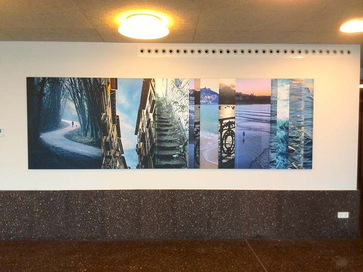 fotomural - wallcovering dibond impreso
