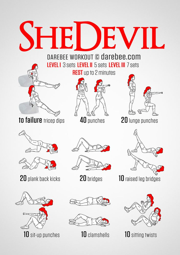 SheDevil Workout | Full Body Strength and Toning Workout | 30 minutes, Beginner - Intermediate | Darebee