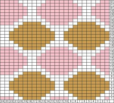 Tricksy Knitter Charts: polka dot by Marcie