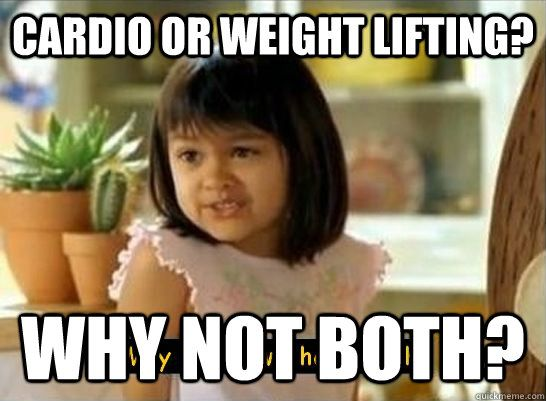 Cardio or Weights: Which Comes First? Cardio or Weights: Which Comes First? Great article explaining the benefits of doing cardio before and after weights.