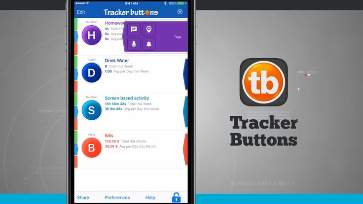 See the full video to know that how does a TrackerButtons iPhone App work