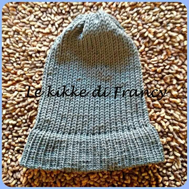 Cappellino unisex in lana merino 😆