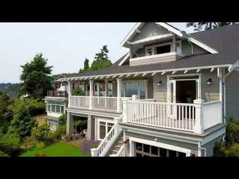 DRONE TOUR: Beautiful Ocean View Home in Fantastic White Rock Location - Westport Properties Group