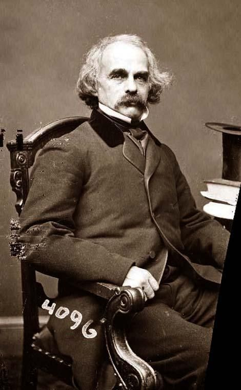 "Nathaniel Hawthorne (1804-1864). The Scarlet Letter. ""Young Goodman Brown"". Romanticism."