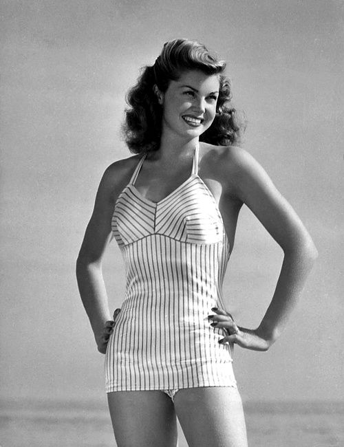 Esther Williams...I never missed her movies...a beauty that swam like a fish...so gorgeous !