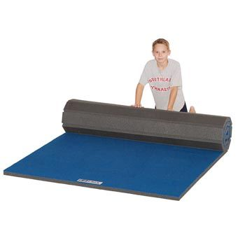 Cheer Floor 4x6x2-This flexible roll mat has a roll out feature that is now industry standard on all of our home cheer practice mats.  This makes practice set-up easy and storage more enjoyable. Take this roll out cheer mat on the road and easily set up this flexible roll mat anywhere to practice your moves.  www.greatmats.com