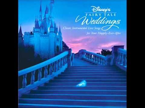 Disneys Fairy Tale Weddings CD With Instrumental Renditions Of The Classic Disney Love Songs
