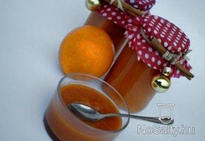 Narancsos sütőtök dzsem